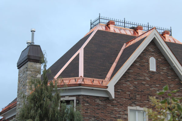 Copper roofing - 16oz